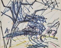 545. frank auerbach | london scene