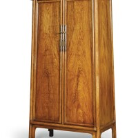 31. a huanghuali round-corner tapered cabinet, yuanjiaogui qing dynasty