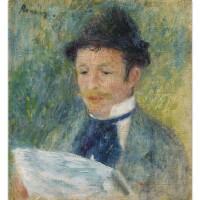 111. pierre-auguste renoir | portrait du baron barbier