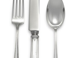 4. an extensive american silver fairfax pattern flatware set, gorham mfg. co., providence, ri and whiting mfg. co., new york, 20th century |
