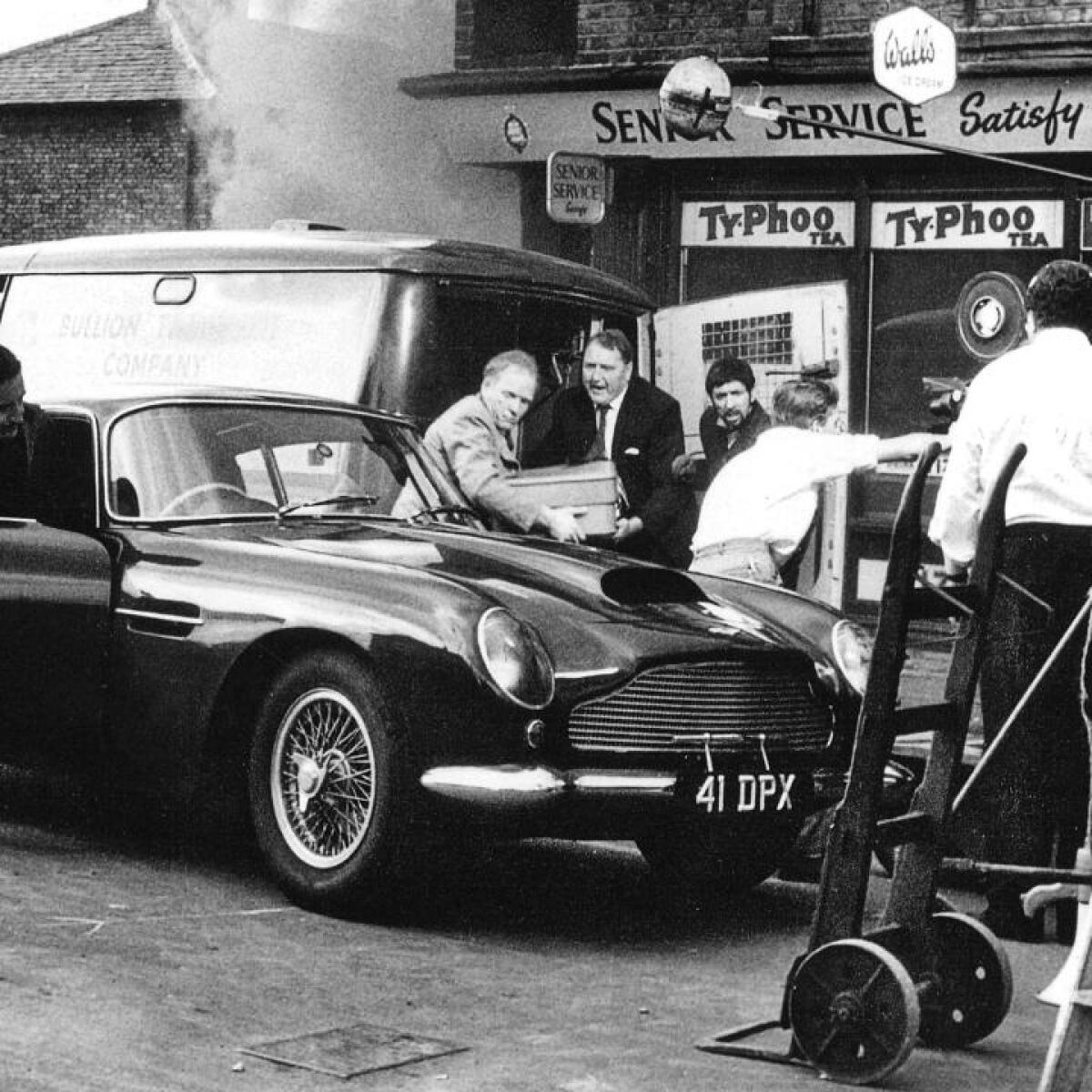 The Legendary Aston Martin Driven By Peter Sellers