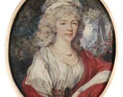 308. augustin ritt | portrait of a lady, called princess tatiana ivanovna gagarina (1761-1800)
