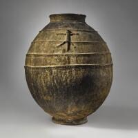 3. bamana terracotta vessel, mali