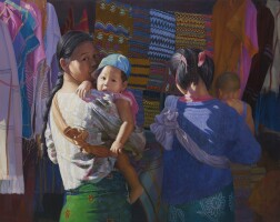 246. 繆溫昂   女人與孩童