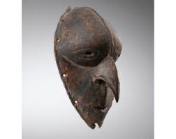 4. masque, population tumleo ou ali, province de sandaun, côte occidentale du fleuve sepik , papouasie nouvelle-guinée