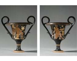 106. an apulian red-figured kantharos, circa 350-330 b.c.