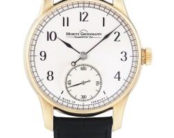 227. moritz grossmann | benu, ref 100.1010limited edition pink gold wristwatchcirca 2013