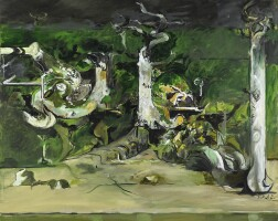 21. graham sutherland   trees on a river bank