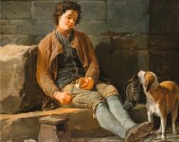 19. nicolas-bernard lépicié | the obedient dog