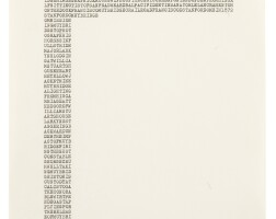 106. Carl Andre