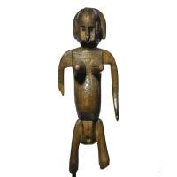 1. a superb and important bamana female figure, mali