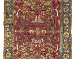 15. an isphahan carpet, central persia