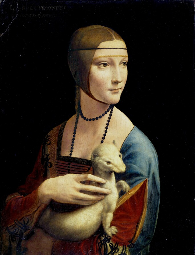 Leonardo da Vinci's 'The Lady with an Ermine,' a Beguiling Portrait of  Elegant Mystique | The Most Famous Artworks in the World | Sotheby's