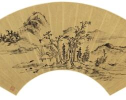1205. 張瑞圖 1570-1641 | 疏林空亭