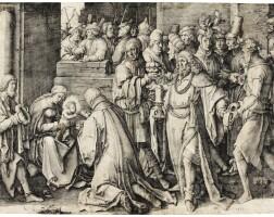 7. lucas van leyden | adoration of the magi (bartsch37)