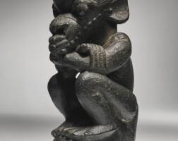 11. pre-sapi stone found spirit figure,sierra leone