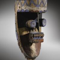 26. masque, grebo, côte d'ivoire |