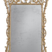 10. a george iii giltwood mirror in the manner of john linnell, circa 1770