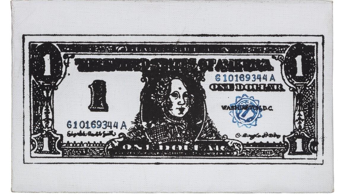 Andy Warhol PRINTED DOLLAR #6 Estimate 200,000–300,000.jpg