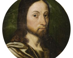 12. south netherlandish school, 16th century | the head of christ