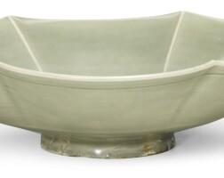 212. a 'yaozhou' lobed dish song dynasty |