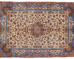 310. a small isfahan carpet, central persia |