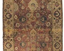 20. an isphahan carpet, central persia