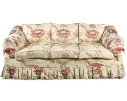 24. an upholstered 'dowland' sofa, modern, in the manner of howard & sons