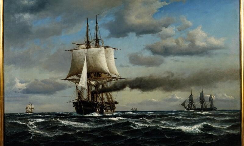 Anton Melbye, Fregatten Jylland, 1866, ARoS Aarhus Kunstmuseum_950x674.jpg