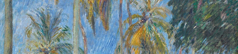 Paul Gauguin, CHEMIN SOUS LES PALMIERS, 1887