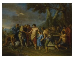 9. circle of françois le moyne | the brothers of joseph selling him into slavery