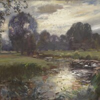 460. sir alfred james munnings, p.r.a., r.w.s.   the river dove