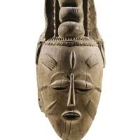 5. masque, djimini / ligbi, côte d'ivoire |