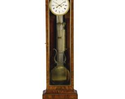 6. amahogany three-month regulateur de parquet,french, 19th century |