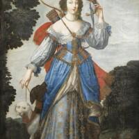 3. claude deruet and workshopnancy 1588 - 1662 | portrait of a lady as diana