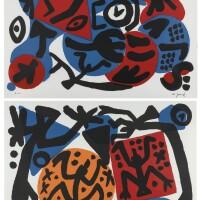 98. a. r. penck | perry rhodan i & iii (two works)