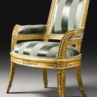 51. a suite of italian carved giltwood seat furniture, roman last quarter 18th century