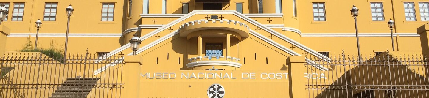 Exterior view of the National Museum of Costa Rica