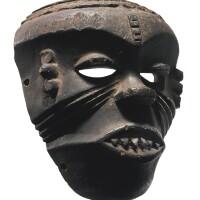 61. ibibio mask for the ekpe society, nigeria