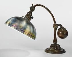 347. tiffany studios | counter-balance desk lamp