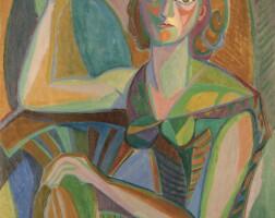 33. salah yousri | portrait of a woman