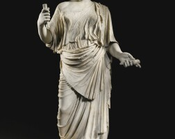 17. a marble statue of aphrodite, roman imperial, circa early 1st century a.d.