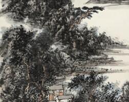 586. 黃賓虹 1864-1955   山水