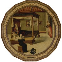 2. master of the chigi-saracini desco active in siena c. 1510 - 1540