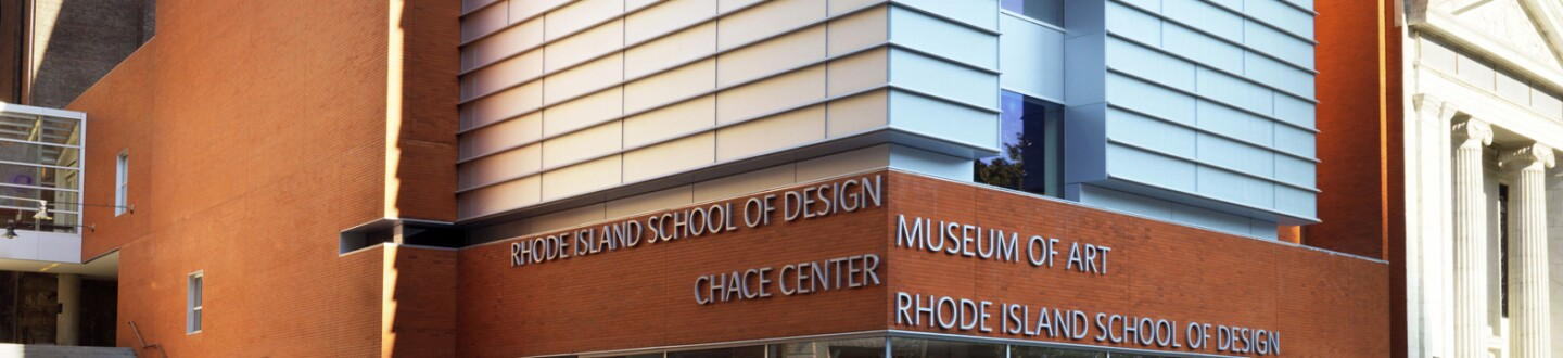 Exterior View,  Rhode Island School of Design Museum