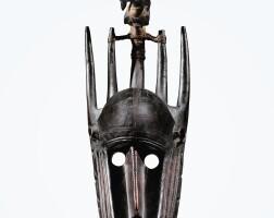 64. masque, bamana, mali  