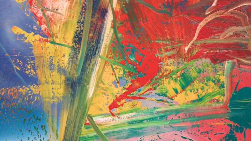 The Striking Colours of Richter's Abstract Series