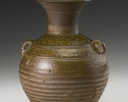 19. a green-glazed stoneware jar han dynasty