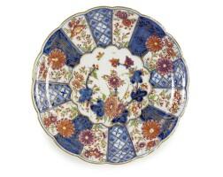 3. a rare meissen lobed dish circa 1728