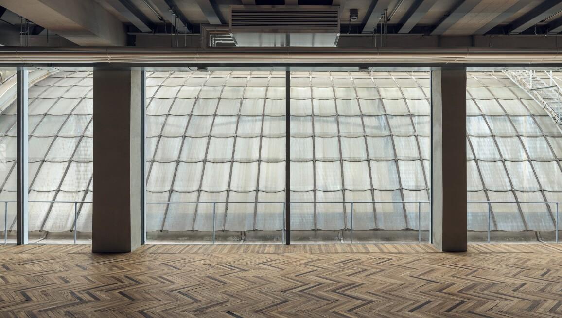 Interior View, Fondazione Prada Osservatorio